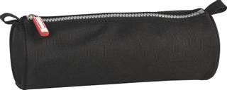 Schlamper-Etui rund onyx