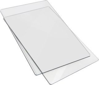 "Acrylplatten Cutting Pad Big Shot(TM) ""Standard"" 15 x 22,5 cm transparent"