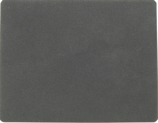 """Rubber Mat """"Rubber Pad"""" 15 x 19 cm blac"""