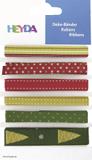 "Deco Ribbons ""Christmas Mix"" 0.6 - 1.2 cm x 90 c"
