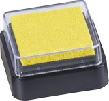 Ink Pad 3 x 3 cm yello