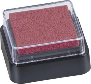 Stempelkissen Mini 3 x 3 cm rot