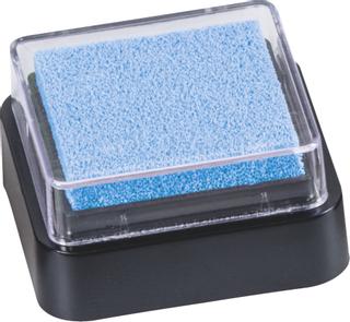 Stempelkissen Mini 3 x 3 cm hellbla