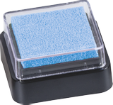 Ink Pad 3 x 3 cm light blu
