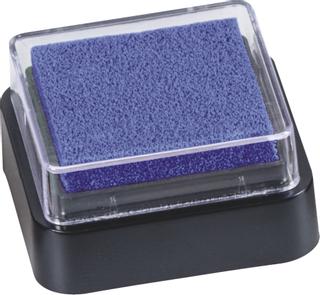 Stempelkissen Mini 3 x 3 cm dunkelblau