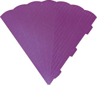 Cone Cut-Outs 41 cm lilac