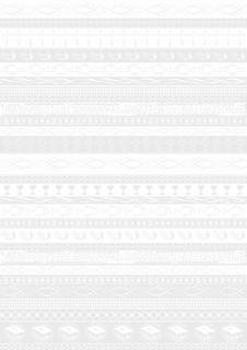 "Transparentpapier Kommunion/Konfirmation ""Bordüre"" A4 (21 x 31 cm inkl. Codierleiste"