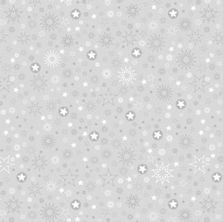 "Faltblätter transparent ""Stardust"" 15 x 15 cm silberfarbe"