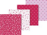 "Origami Paper Set ""Heart"" 15 x 15 c"