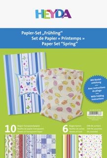 "Papier-Set ""Frühling"" A"