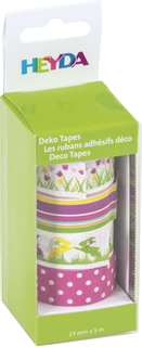 "Deco Tapes ""Tulips"" each roll 5 m x 15 m"