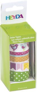 "Deco Tapes ""Birds"" each roll 5 m x 15 m"