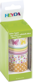 "Deco Tapes ""Butterflies"" each roll 5 m x 15 m"