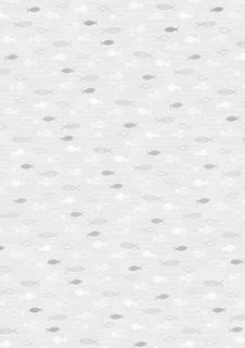 """Transparentpapier """"Fische"""" A4 (21 x 31 cm inkl. Codierleiste"""