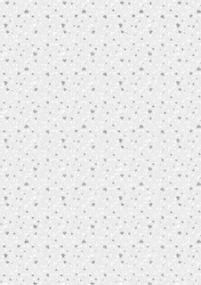 """Transparentpapier """"Herzen klein"""" A4 (21 x 31 cm inkl. Codierleiste"""