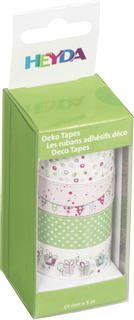 "Deco Tapes ""Garland"" each roll 5 m x 15 mm paste"