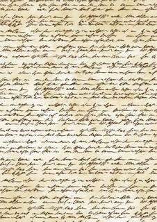 """Transparentpapier """"Handschrift"""" A4 (21 x 31 cm inkl. Codierleiste) antikbrau"""