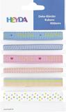 """Deco Ribbons """"Baby"""" 0.6 - 1.2 cm x 90 c"""