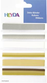 "Deko-Bänder ""Elegant"" 0,6 - 1,2 cm x 90 cm"