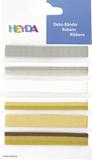 """Deco Ribbons """"Elegant"""" 0.6 - 1.2 cm x 90 c"""