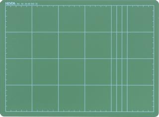 Schneid-Unterlage 30 x 22 cm grü