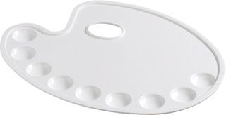 Mischpalette oval 30 x 22 cm
