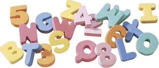 """Moosgummistempel """"Buchstaben und Zahlen"""" 5 c"""