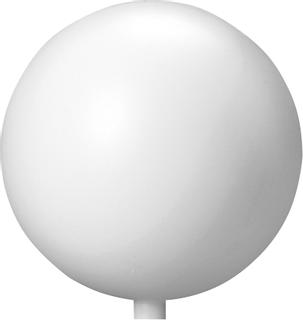 Kugel Ø 15 cm weiß