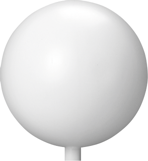 Kugel Ø 18 cm weiß