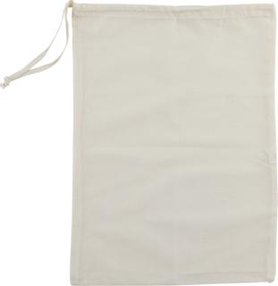 Beutel mit Ziehband 41 x 30 cm natu