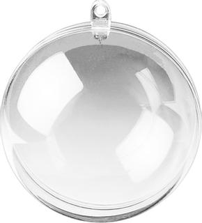 Acryl-Kugel Ø 6 cm transparent