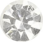 Iron-On Rhinestones round, flat Ø 4.5 mm crystal