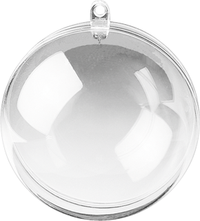 Acryl-Kugel Ø 5 cm transparent