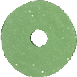 Sequins Ø 6 mm gree