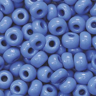 Bohemian Rocailles Beads Ø 5 mm denim blue