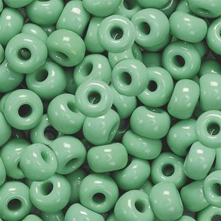 Bohemian Rocailles Beads Ø 5 mm green