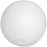 Styrofoam Ball Set Ø 4 cm whit