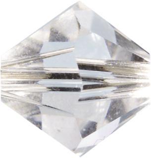Swarovski Doppelkegel Swarovski Ø 4 mm crystal