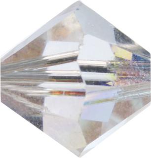 Swarovski Doppelkegel Swarovski Ø 4 mm crystal AB