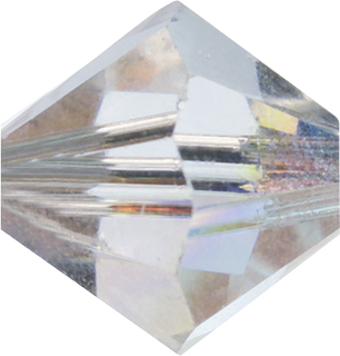 Swarovski Doppelkegel Swarovski Ø 6 mm crystal A