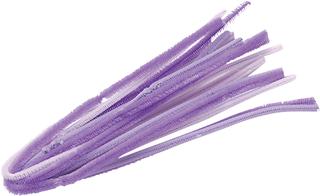 Chenille Stem Mix 50 cm Ø 6 mm purple