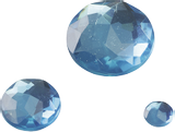 Gem Stone Assortment Ø 6, 12, 18 mm turquois