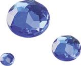 Gem Stone Assortment Ø 6, 12, 18 mm sapphir