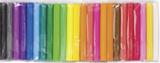 Assortment of Modelling Clay for Children white, lemon yellow, pink, tulip red, medium red, light r