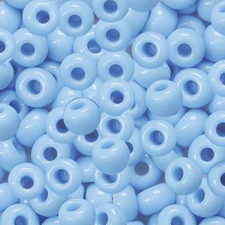 Bohemian Rocailles Beads Ø 5 mm sky blu