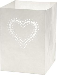 """Luminary Bag """"Small heart"""" 16 x 11 x 11 c"""
