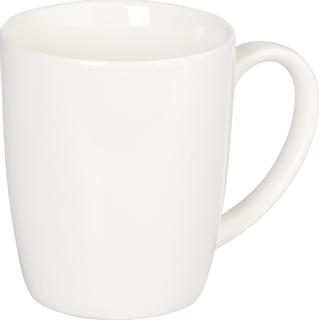 Porzellankaffeebecher 10 cm Ø 8,5 cm weiß