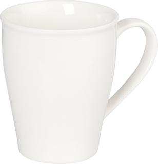 Porzellankaffeebecher 10 cm Ø 8 cm weiß