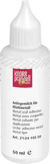 Metal Leaf Adhesive Flimsy Metal transparent
