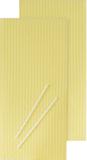 Beeswax Set wax tiles: 10 x 30 cm, wicks: 12 c